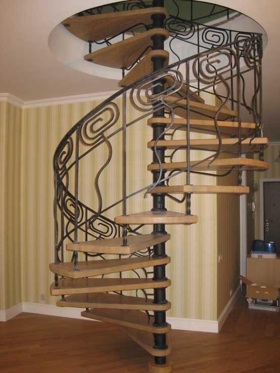 лестницы из металла 3